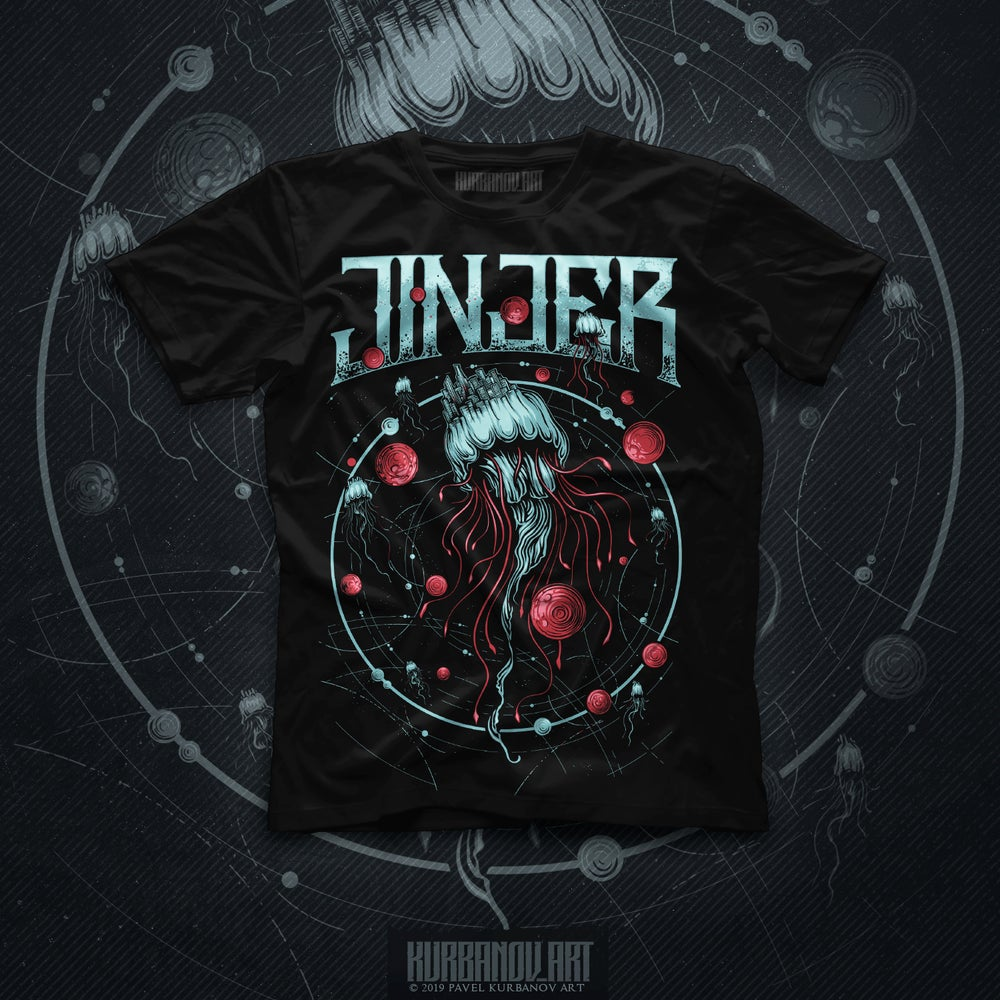 Image of JINJER - Escape The Microverse - TEE *NEW*