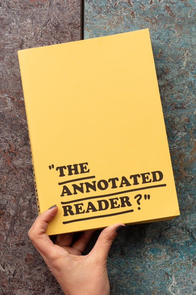 Image of THE ANNOTATED READER  <br />  — Ryan Gander & Jonathan P. Watts