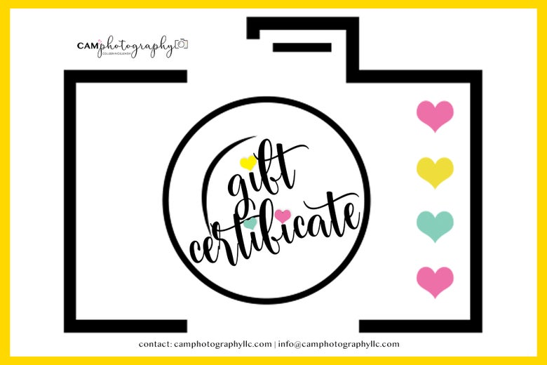 Image of 2020 Gift Certificate