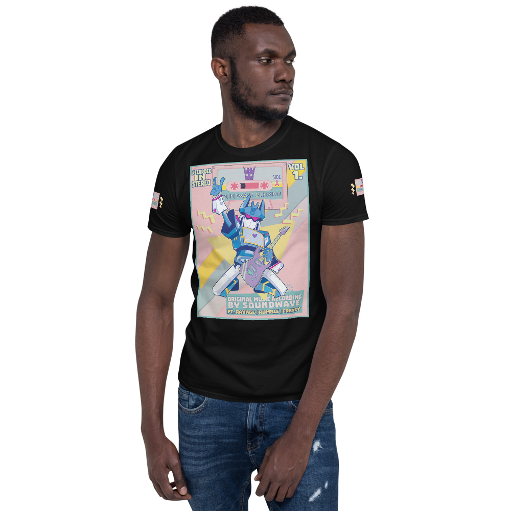 Image of SOUNDWAVE TEE - TFCON EXCLUSIVE