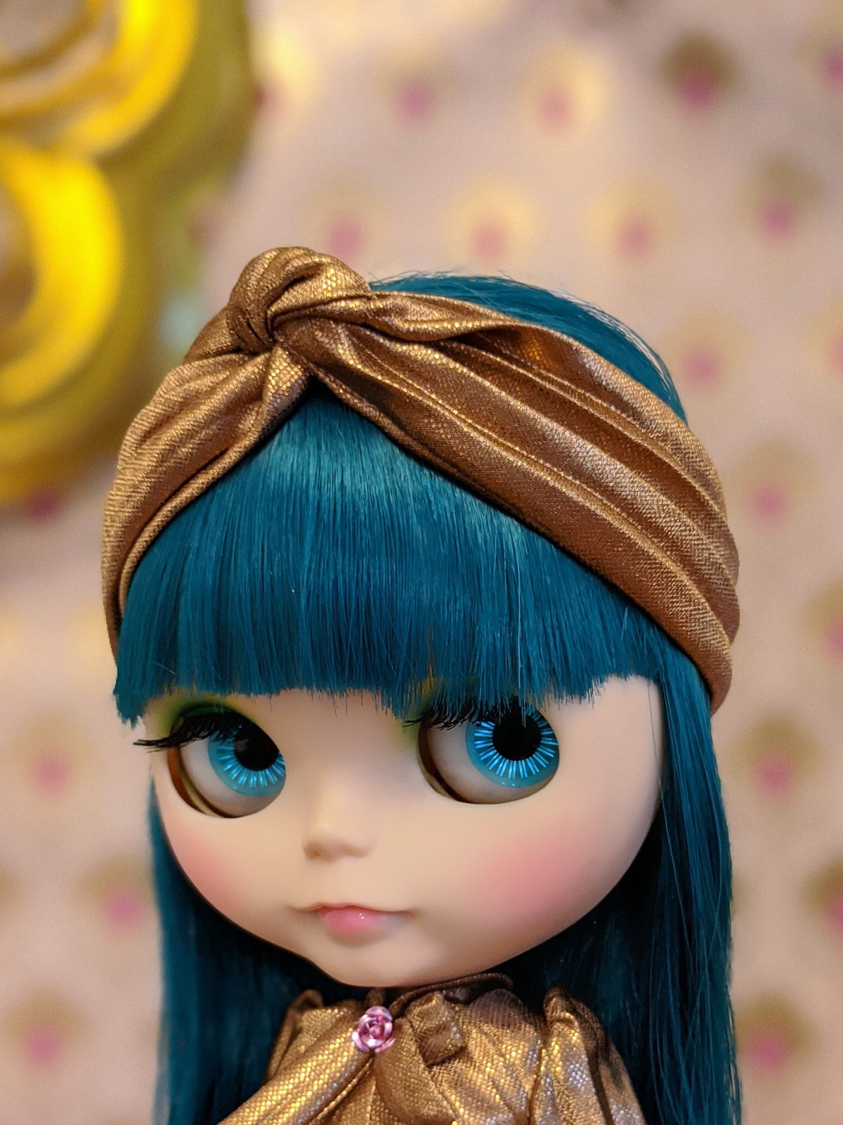 Image of Lounging Linda ~ Turban Headband ONLY - Blythe Size