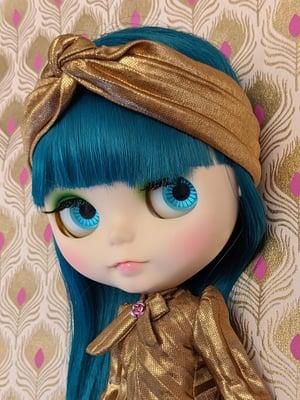 Image of Lounging Linda ~ Turban Headband ONLY - Blythe Size