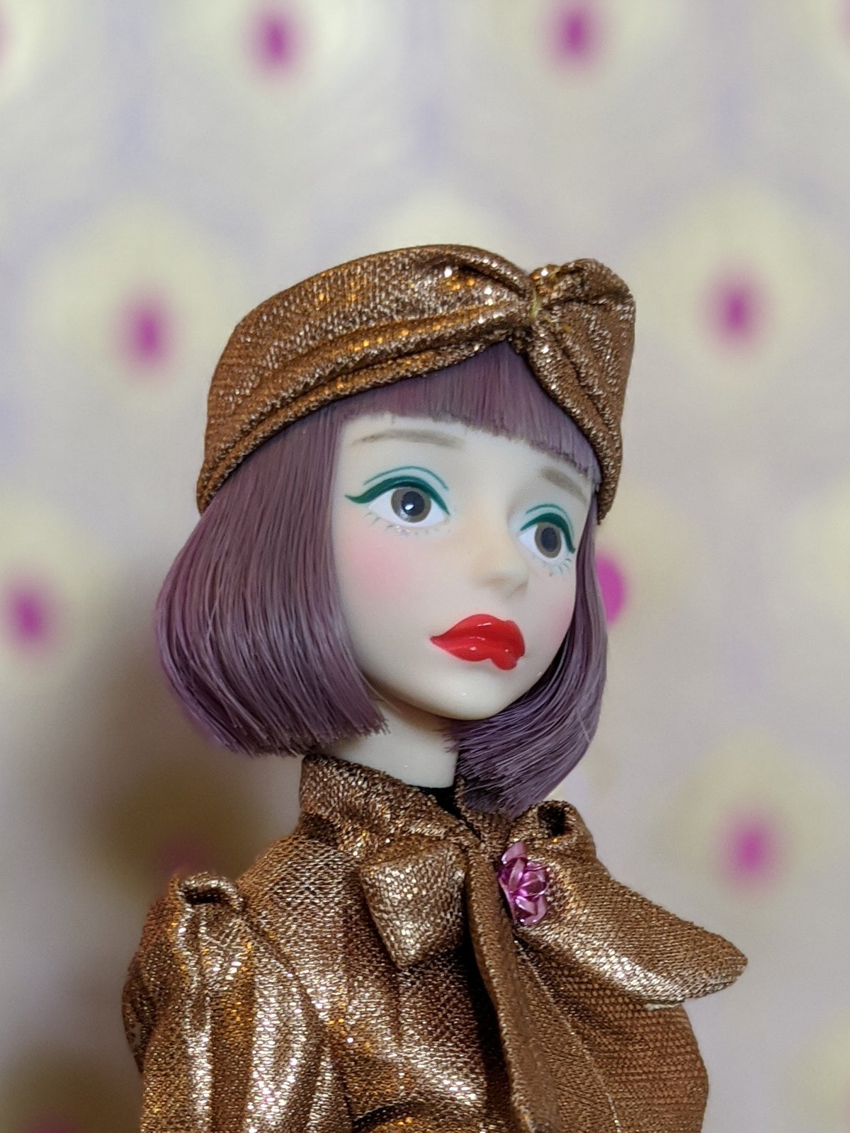 Image of Lounging Linda ~ Turban Headband ONLY - Cherry size