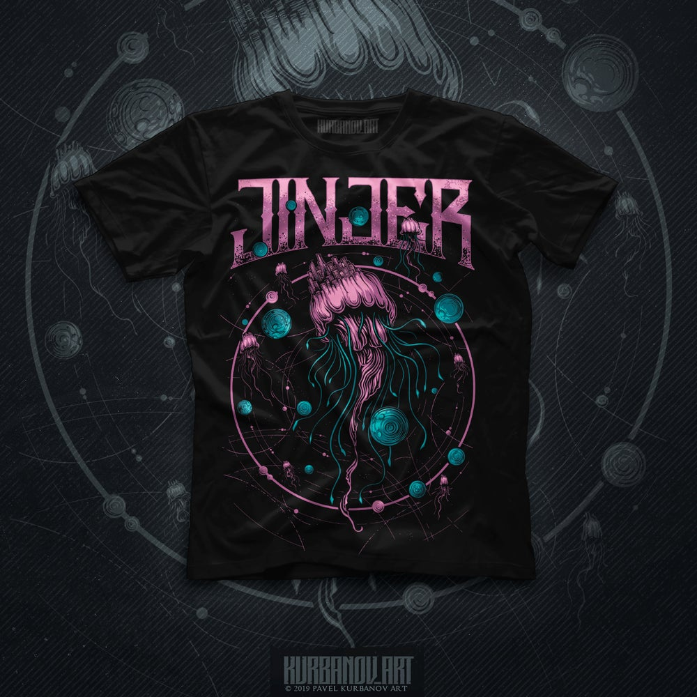 Image of JINJER - Escape The Microverse - GIRLS TEE *NEW*