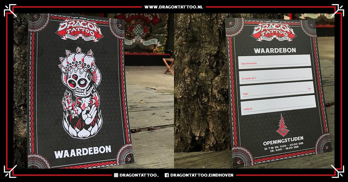 Dragon Tattoo Gift Card