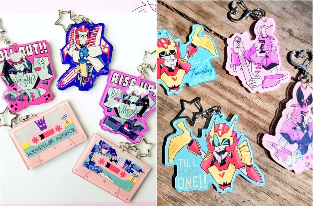 Image of 2 for $20 TF KEYCHAINS