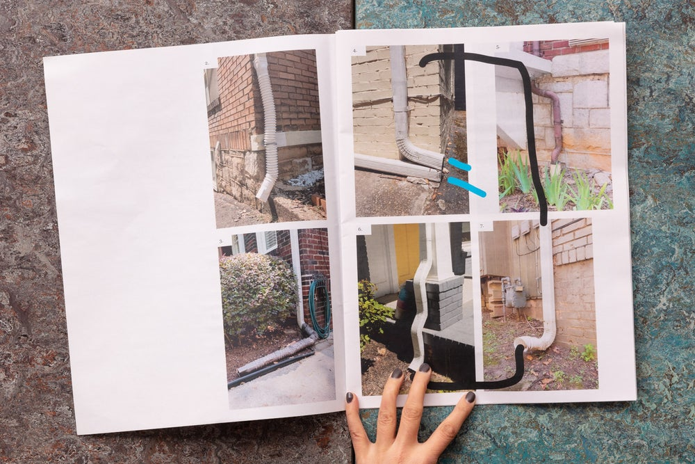 Image of OH DEAR — A typology of drainpipes<br /> —Dante Fewster Holdsworth