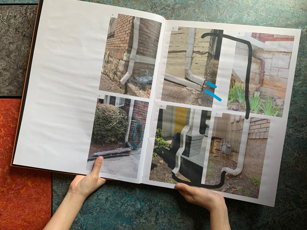 Image of OH DEAR — A typology of drainpipes (Limited Ed. Hard Cover)<br /> —Dante Fewster Holdsworth