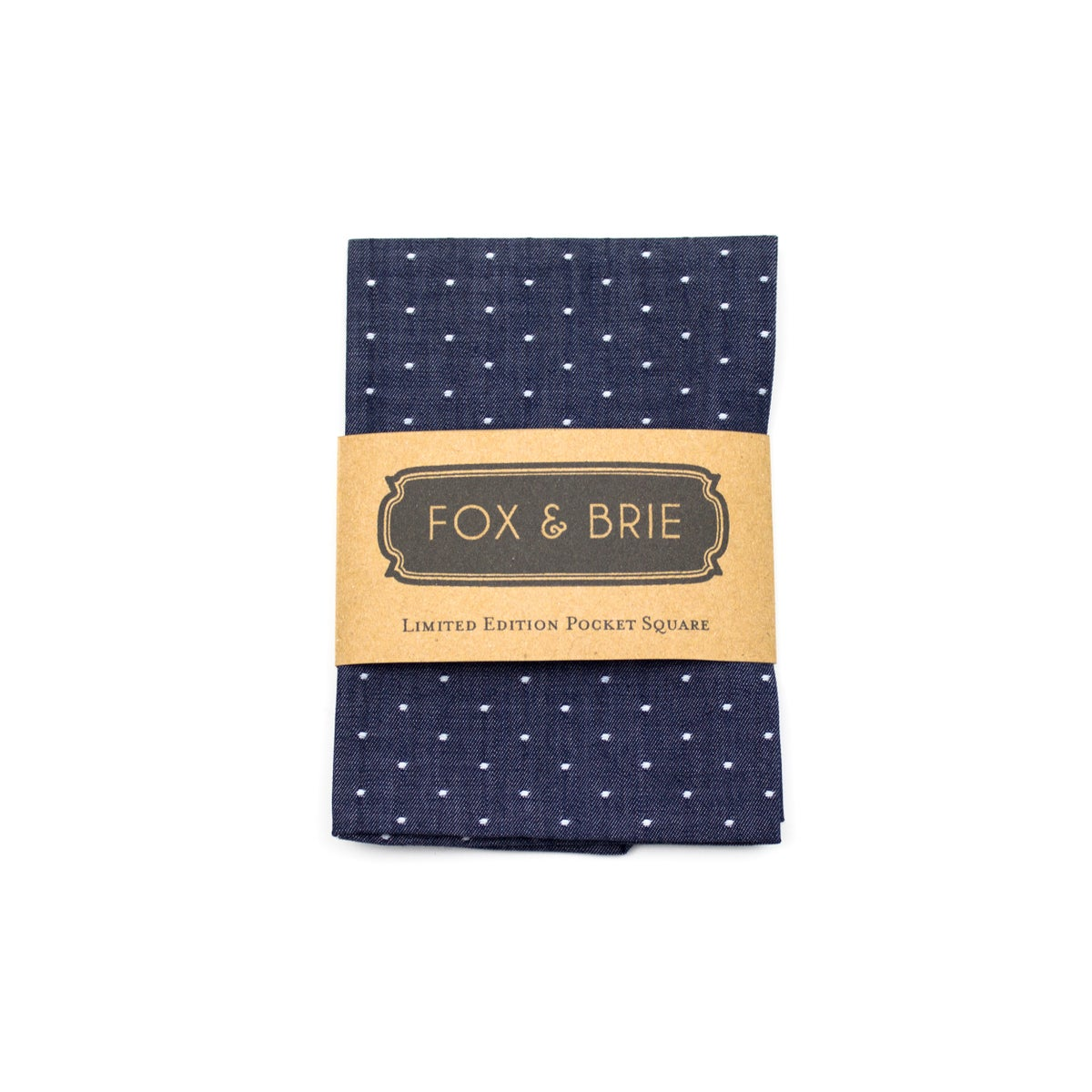 Image of Indigo Dot Pocket Square