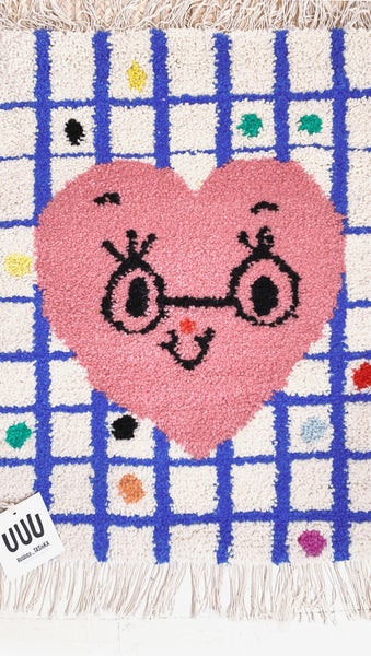 Image of Wool Rug for Kids - RUUUGS Misako Mimoko