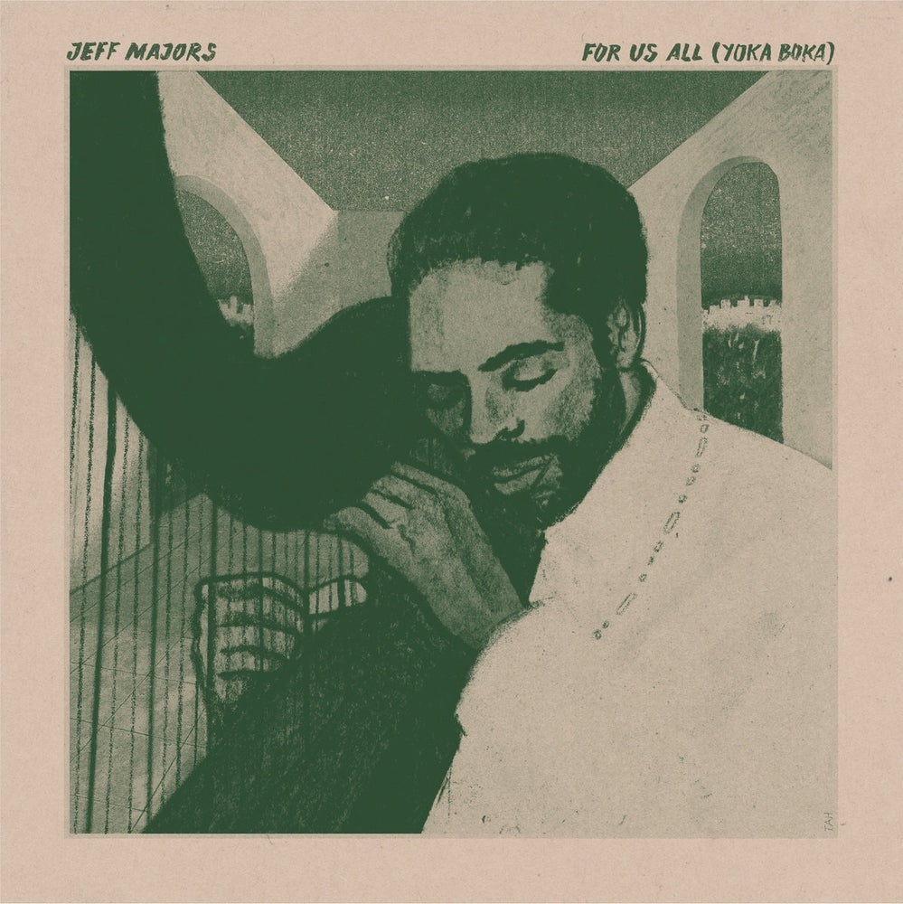 Image of Jeff Mayors - For Us All (Yoka Boka) - LP (INVISIBLE CITY EDTIONS)