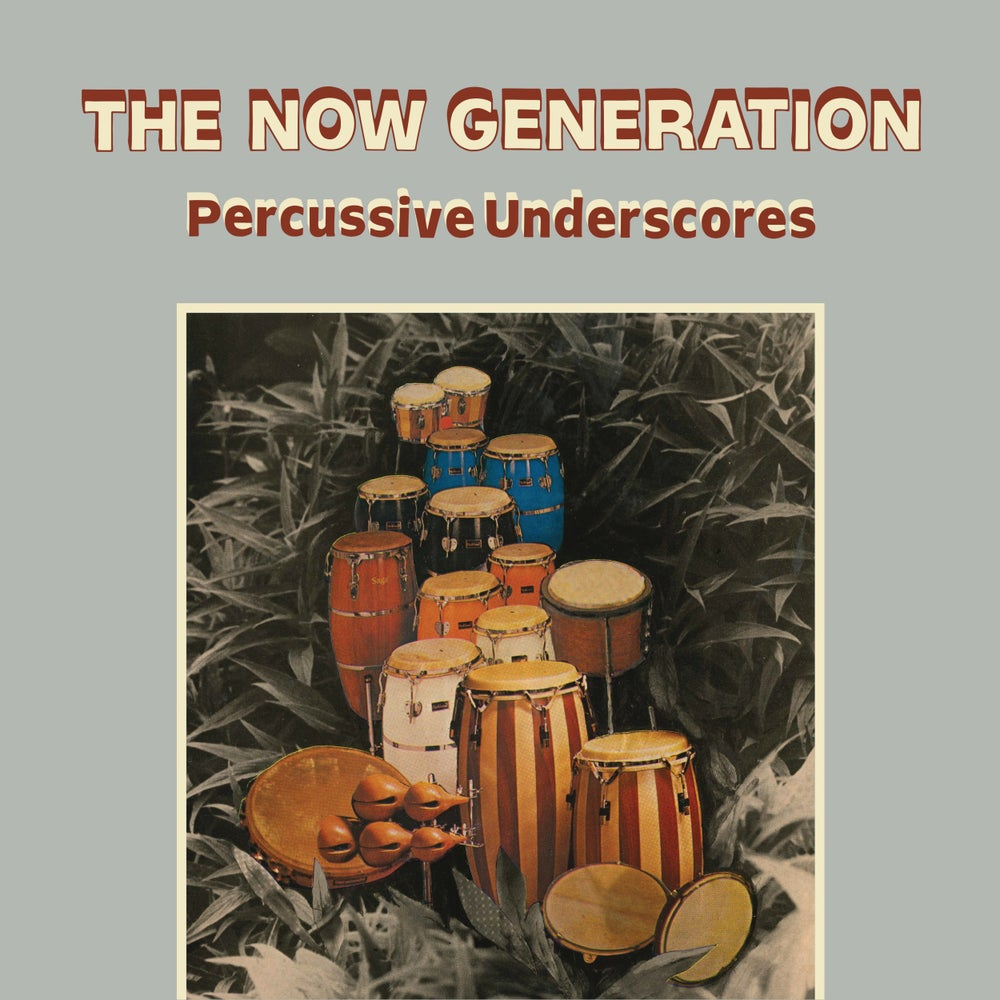Image of  Peter Lüdemann/Pit Troja ‎– The Now Generation (Percussive Underscores) - LP (BE WITH)