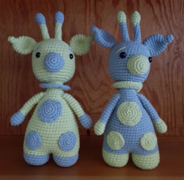Bonecos - Girafas - Lopo Xavier