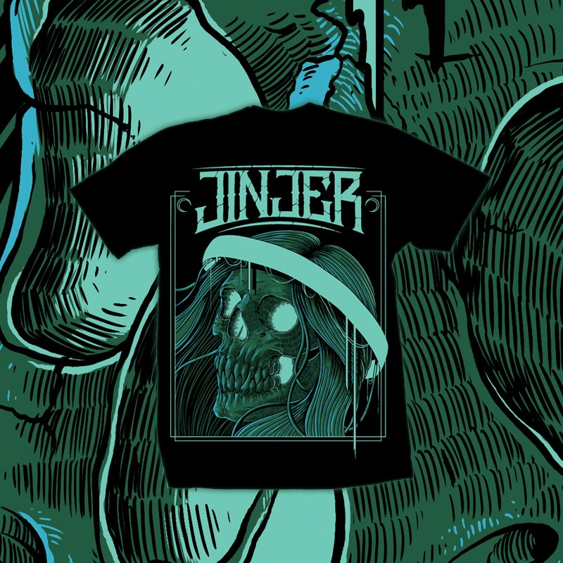 Image of JINJER - Strange Daze - TEE *NEW*