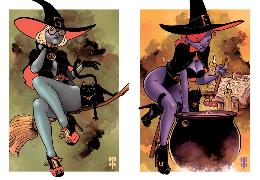 Image of THE COVEN print set