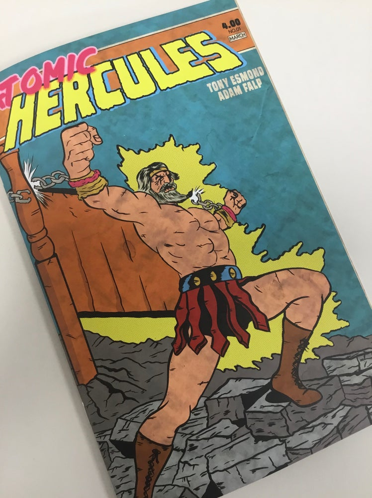 Image of Atomic Hercules - issue 1 (DIGITAL VERSION).