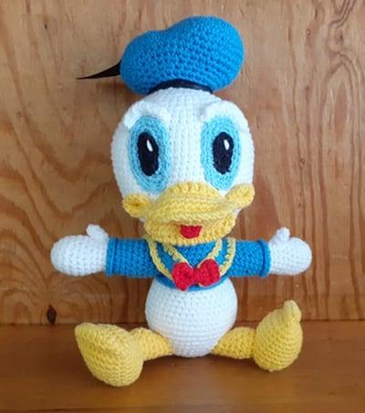 Bonecos- Pato Donald - Lopo Xavier