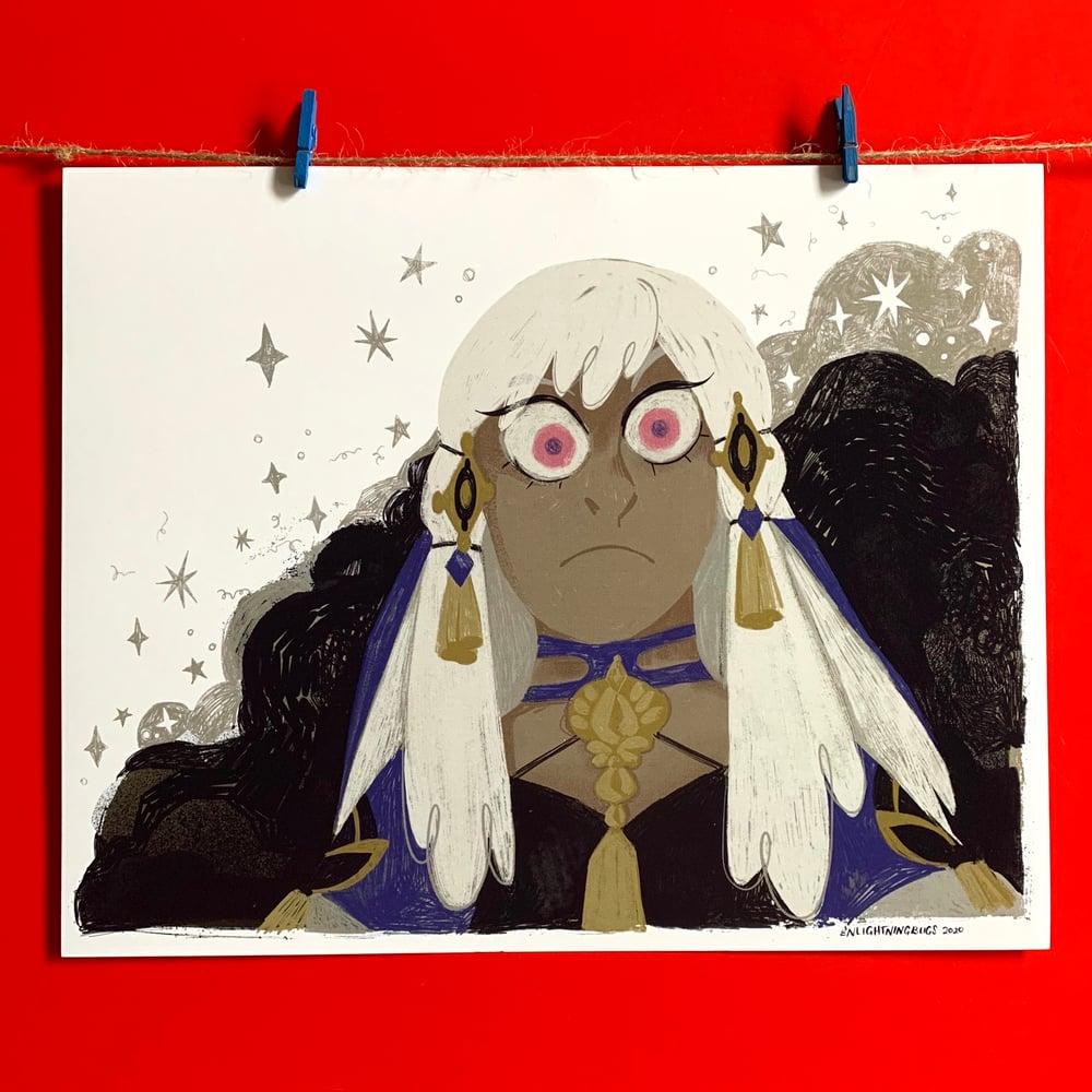 Image of Lysithea mini print