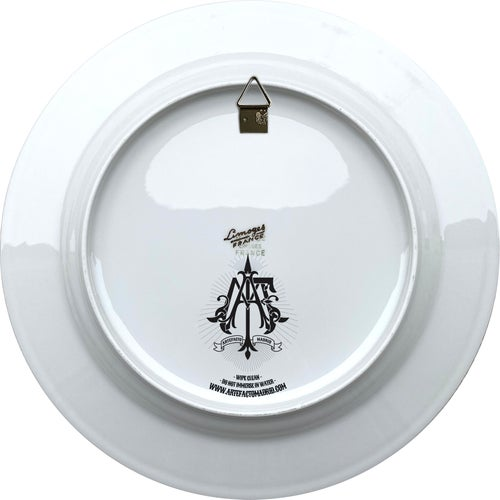 Image of Cyclops King - Vintage Porcelain Plate - Limoges France #0717
