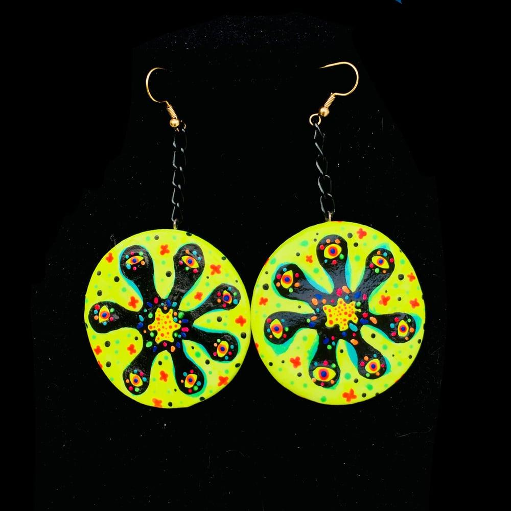 Image of Germs - Handsculpted earrings