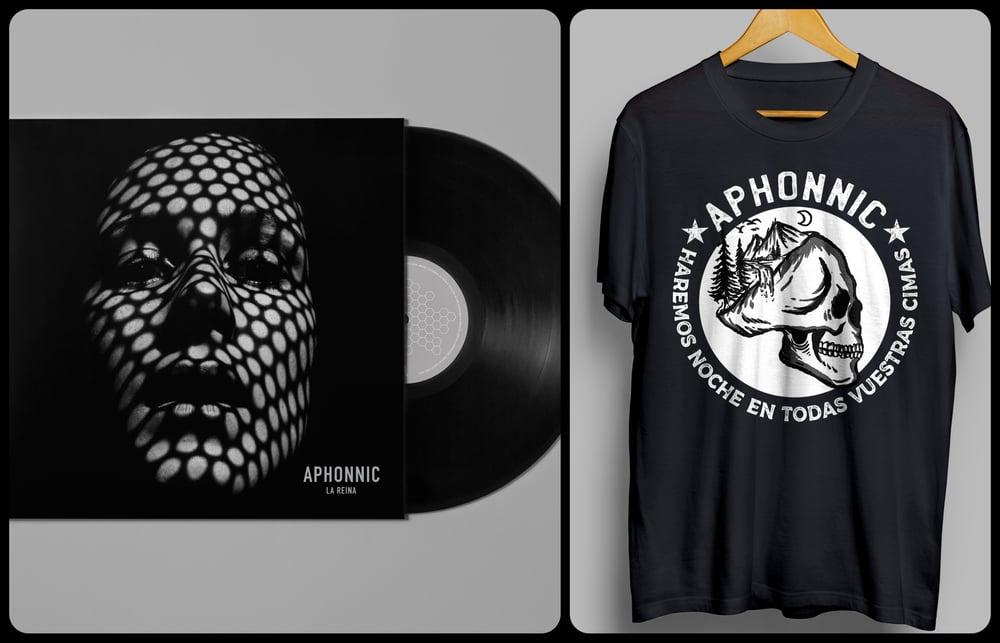 "Image of Pack - Vinilo  ""La Reina"" + Camiseta ""En todas vuestras cimas"""