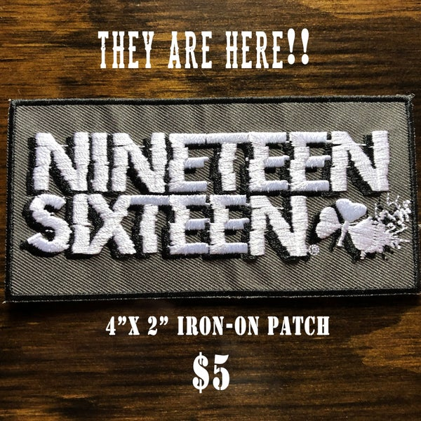 Image of Nineteen Sixteen Iron-On patch