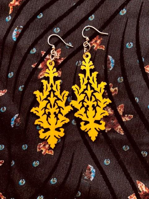 Image of Leaf Cluster Earrings