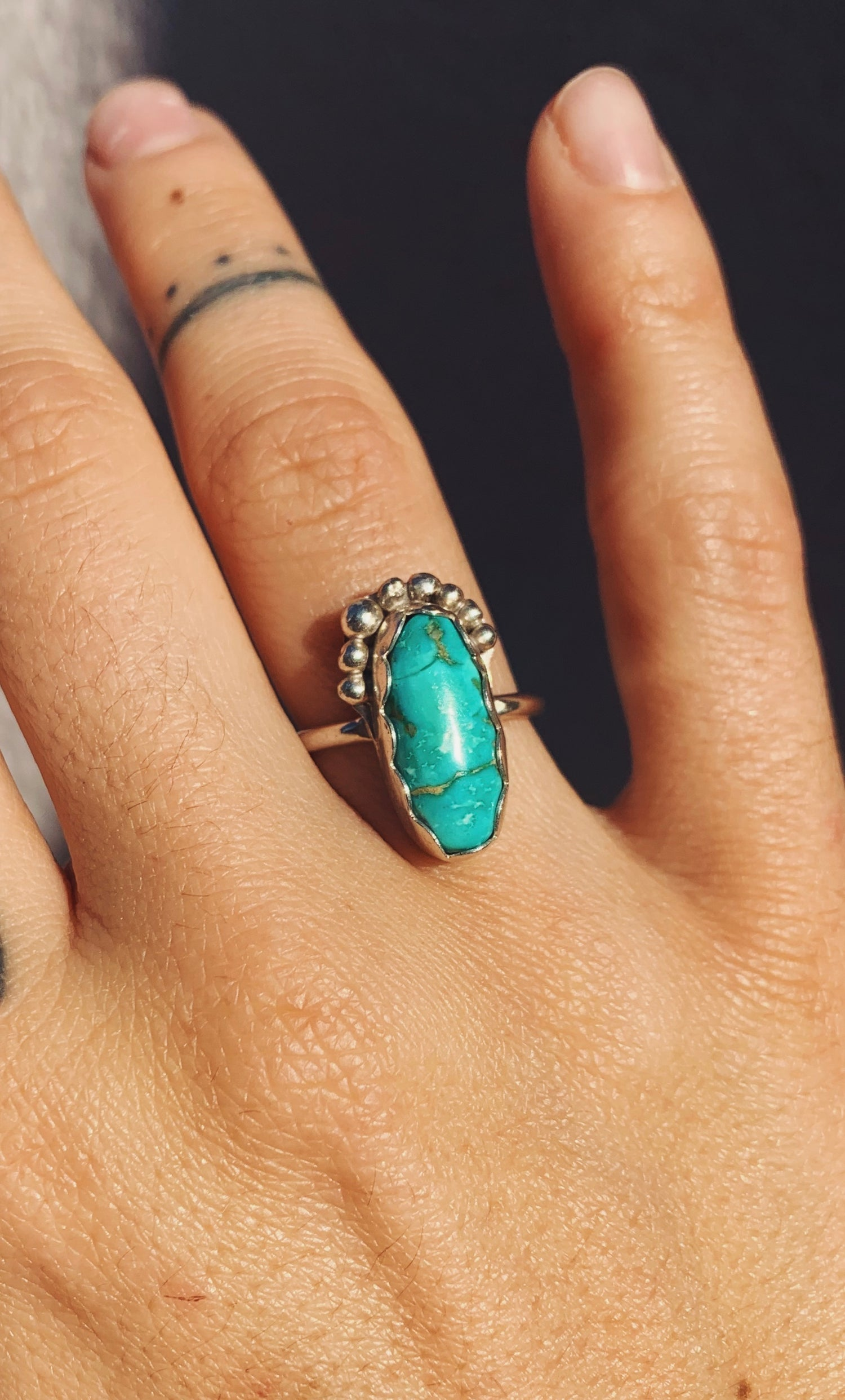 Image of Deep Sea Turquoise Ring