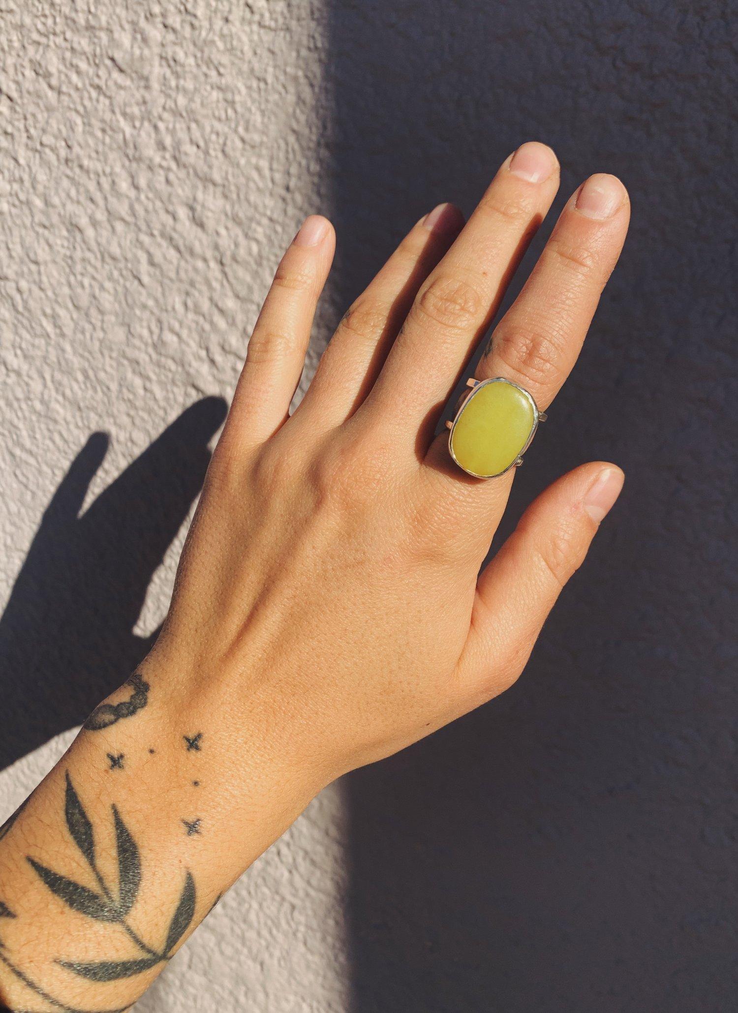 Image of Lemon Jade Ring