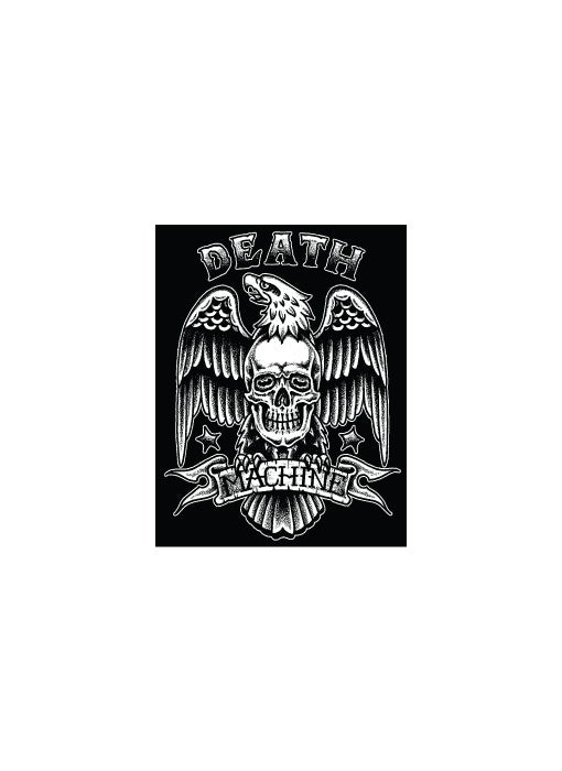 Image of DEATHS EAGLE STICKER