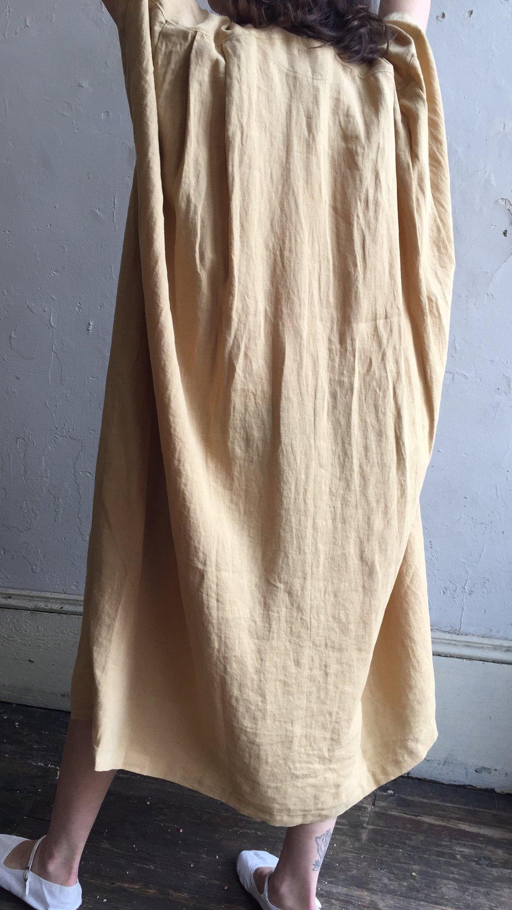 Image of Black Crane Oragami Dress