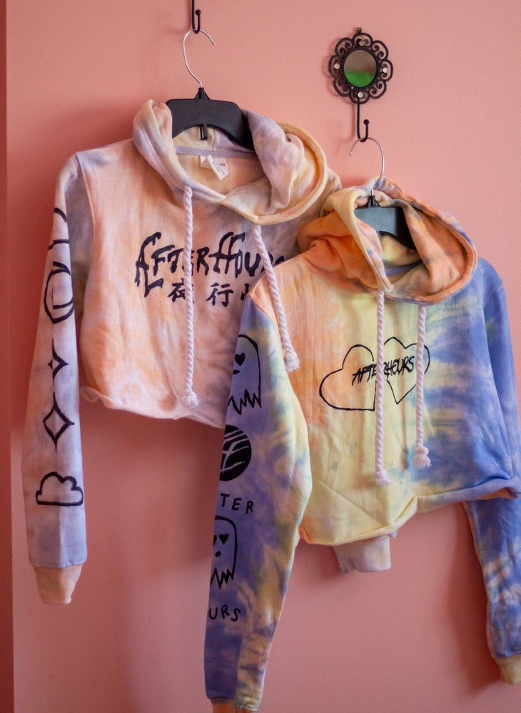Image of AH Candy Crop Hoodies