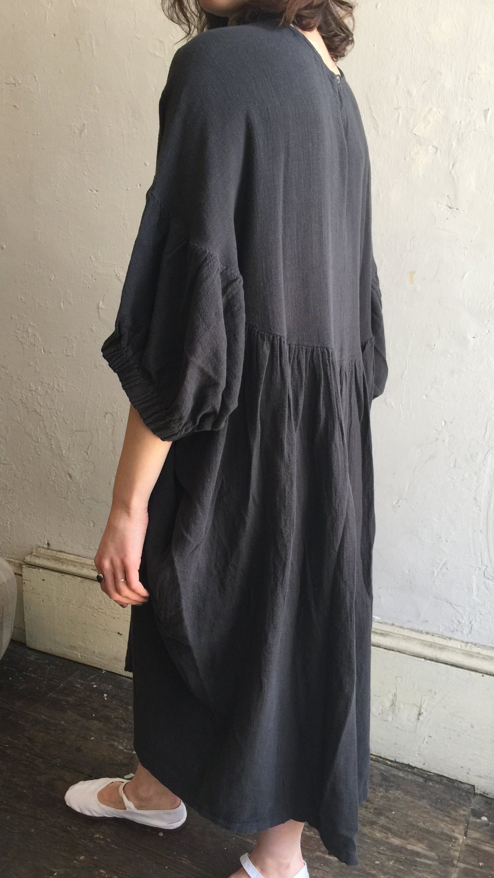 Image of Black Crane Xiao Dress