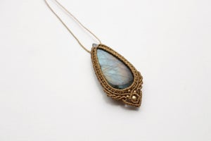 Image of Labradorite necklace