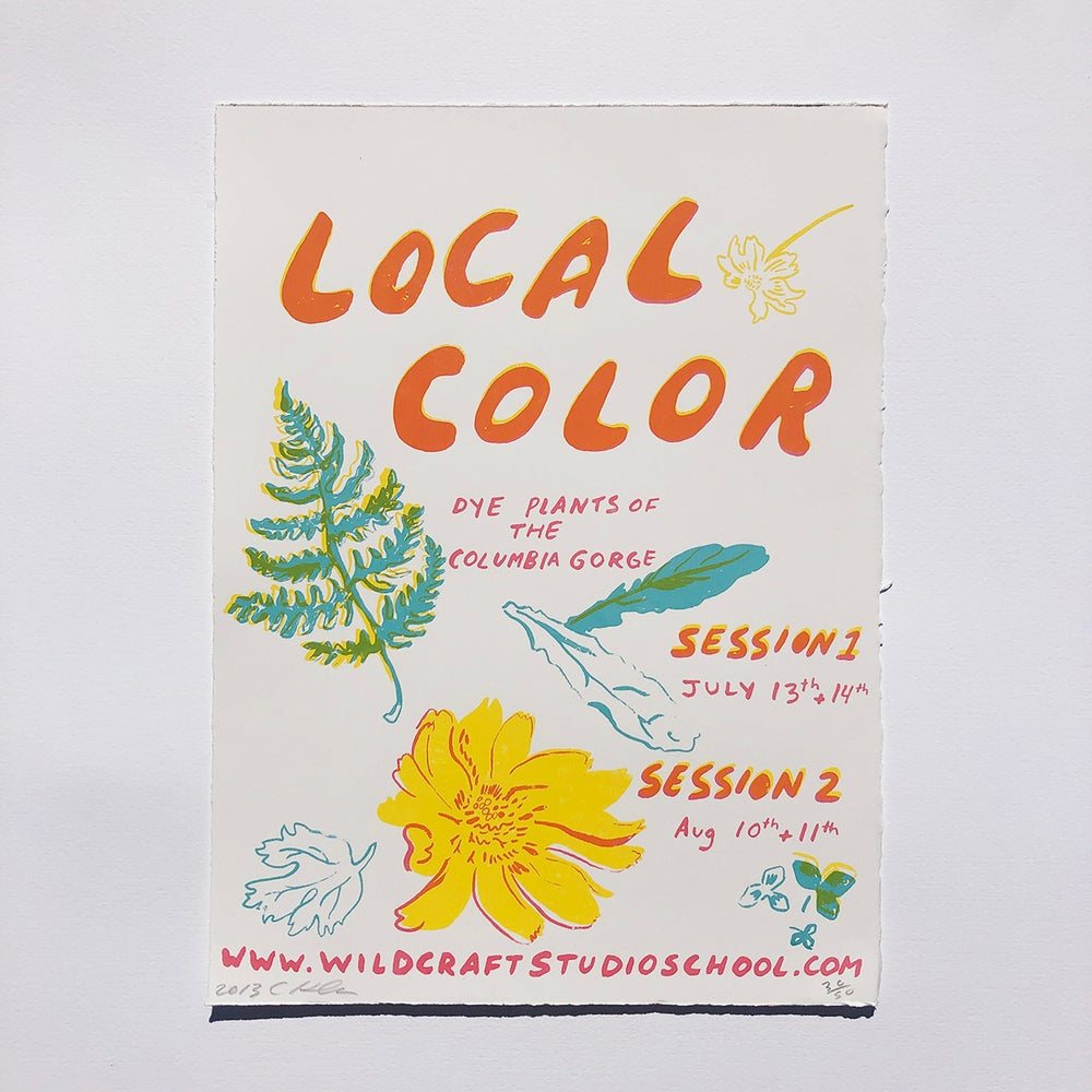 Image of Local Color: Dye Plants of the Columbia Gorge