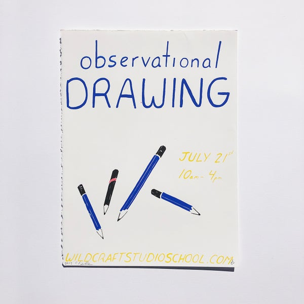 Image of Observational Drawing