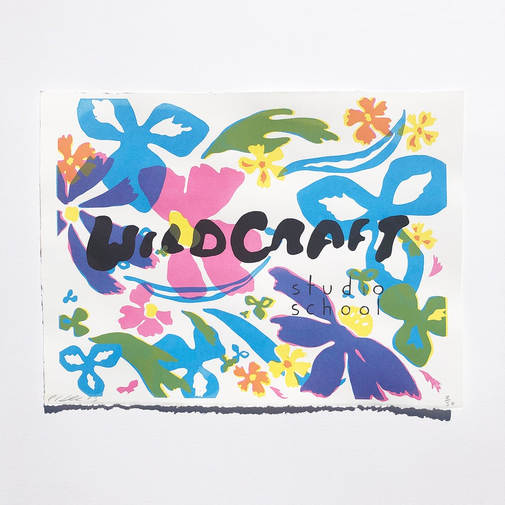 Image of Original WildCraft Poster & Logo