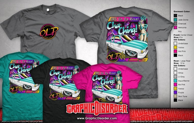 Image of Cha-Ching T-Shirt (All Color Options)