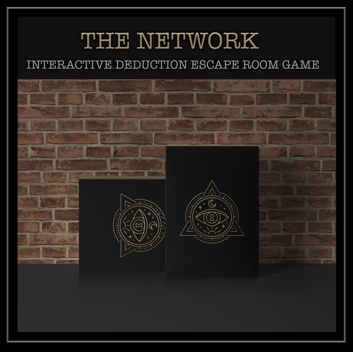 The Network  - An Immersive, Luxury, Escape Room Deduction Game In A Box