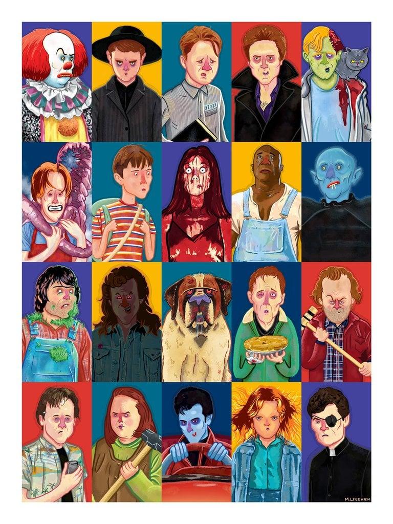 Stephen King –11x14 Print