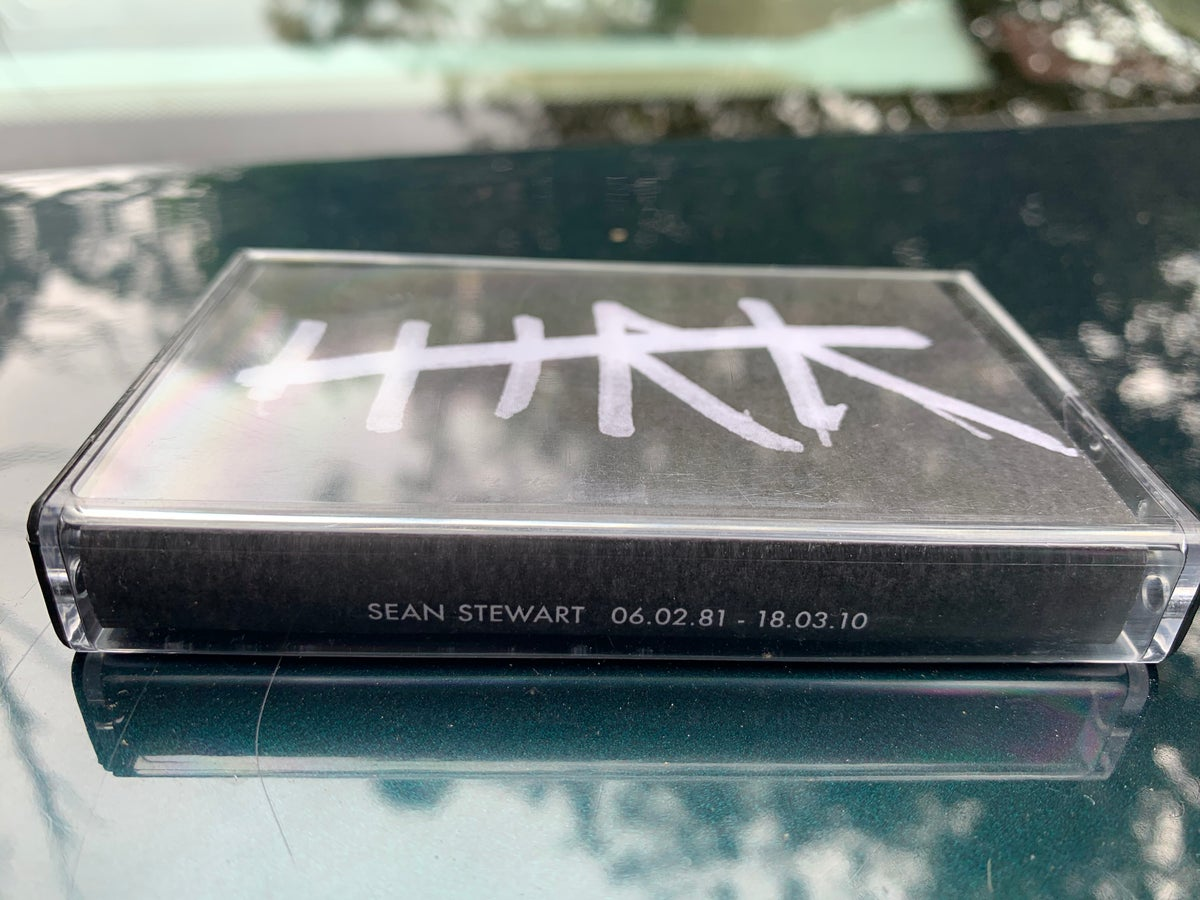 Image of HTRK tape for Sean
