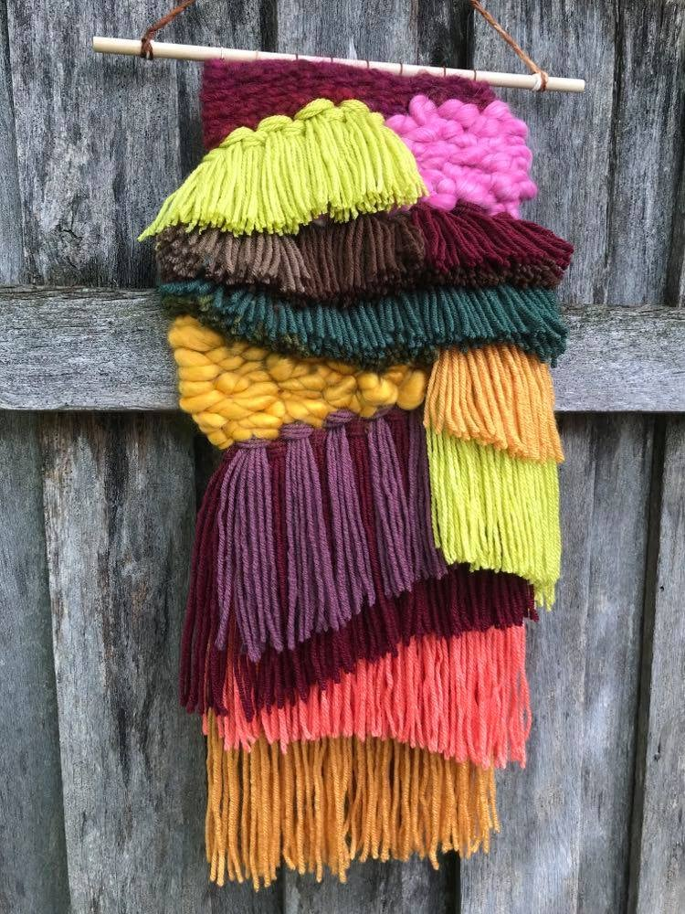 Autumn Breeze Woven Wall Hanging