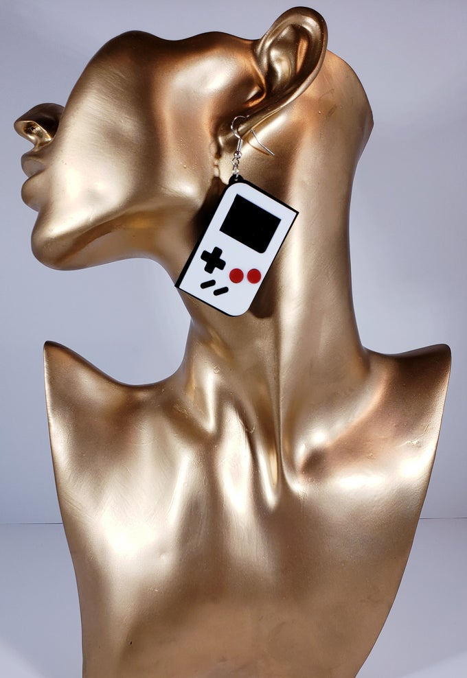 Image of Game Boy Earrings