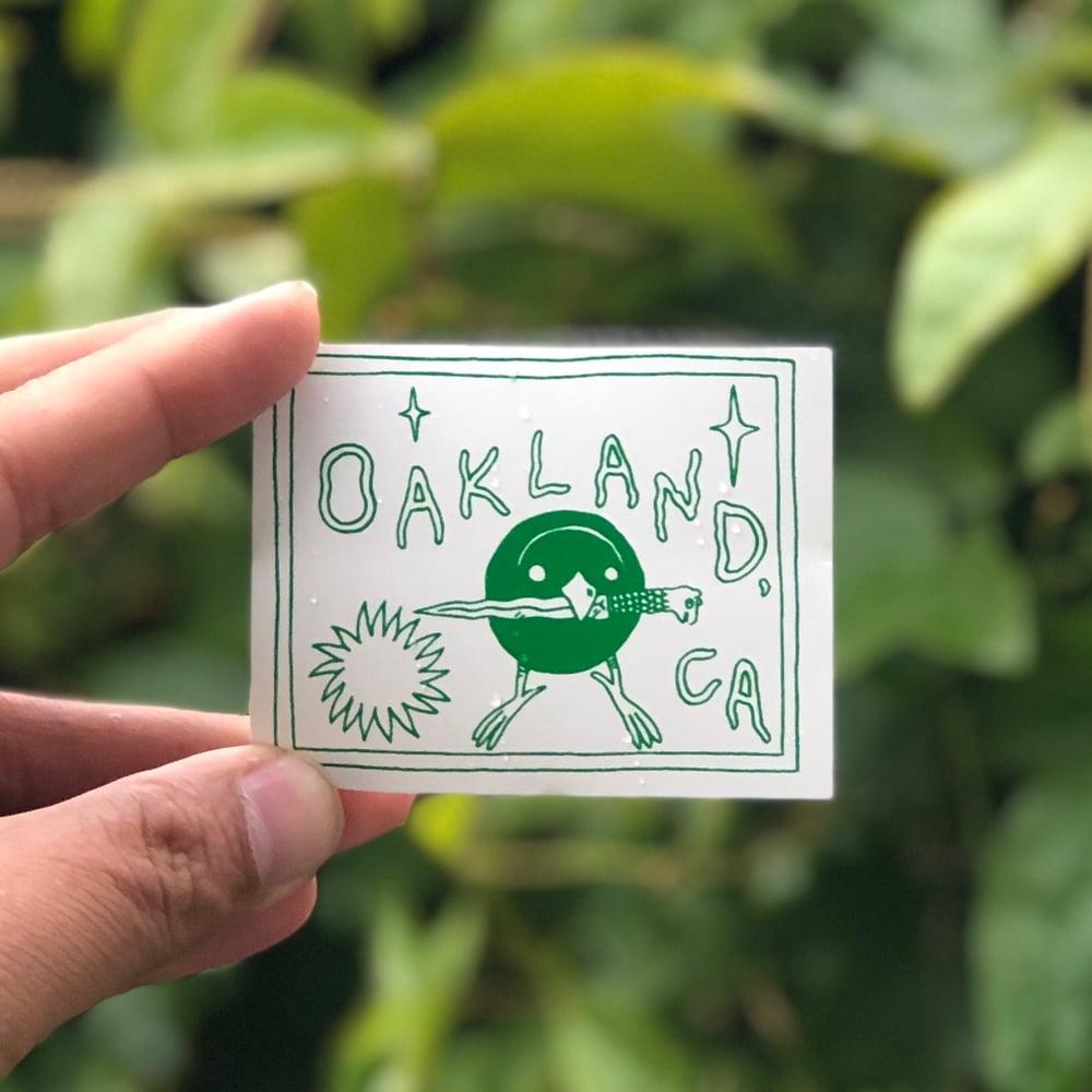 Image of Oakland Bird Sticker