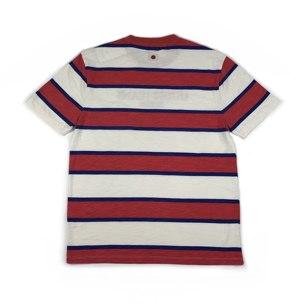 Image of Japan Limited Guess/A$AP Rocky Red/Blue striped T-Shirt