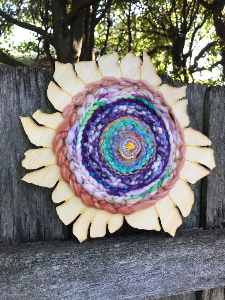 Image of Pastel Forever Woven Flower