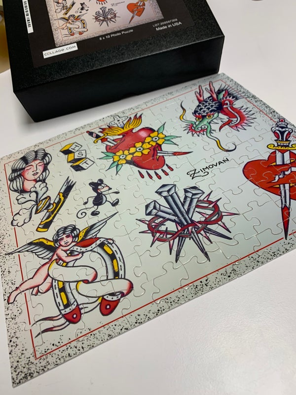 Image of Flash sheet Puzzle