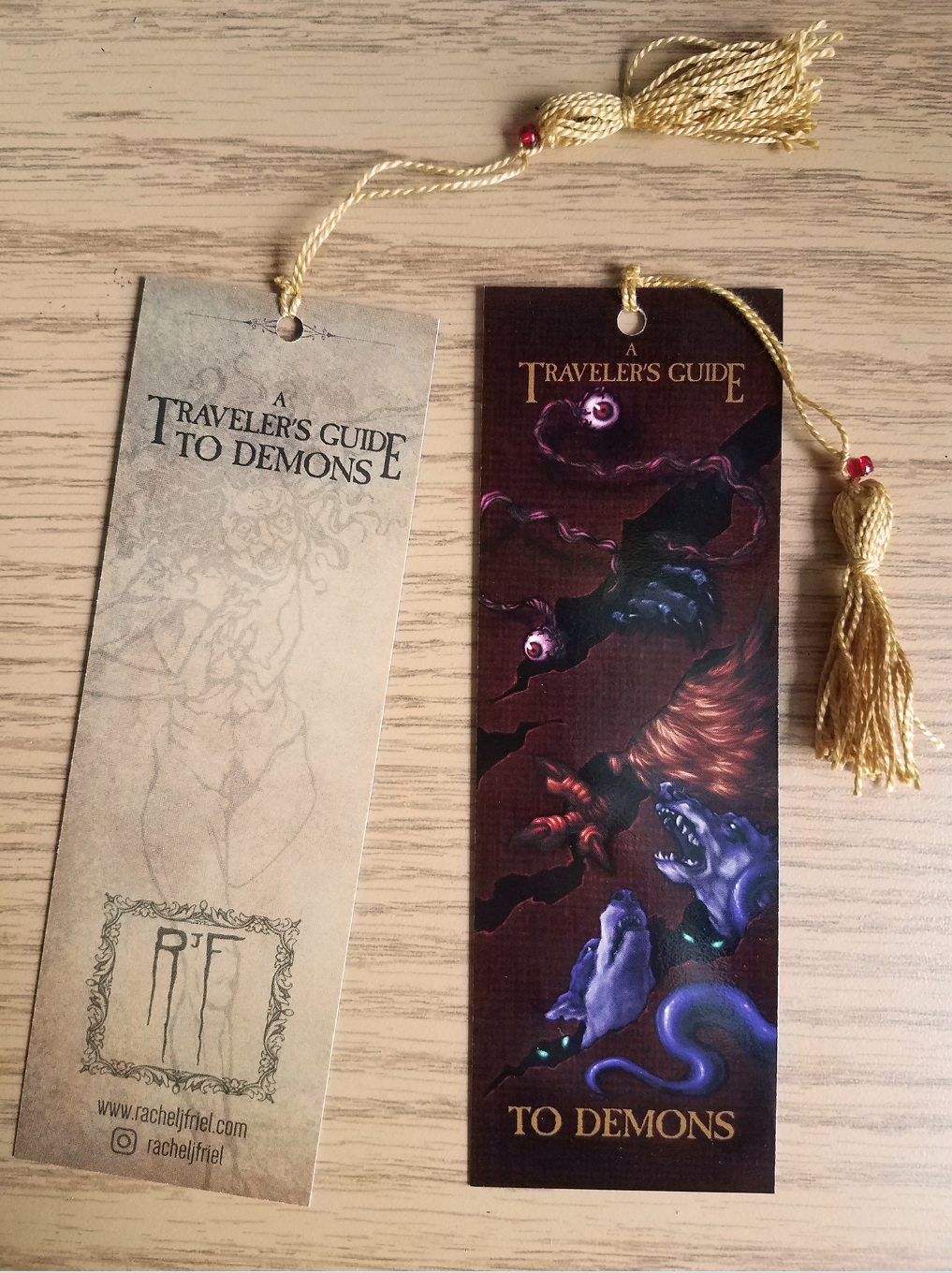 Image of A Traveler's Guide to Demons: Bookmark