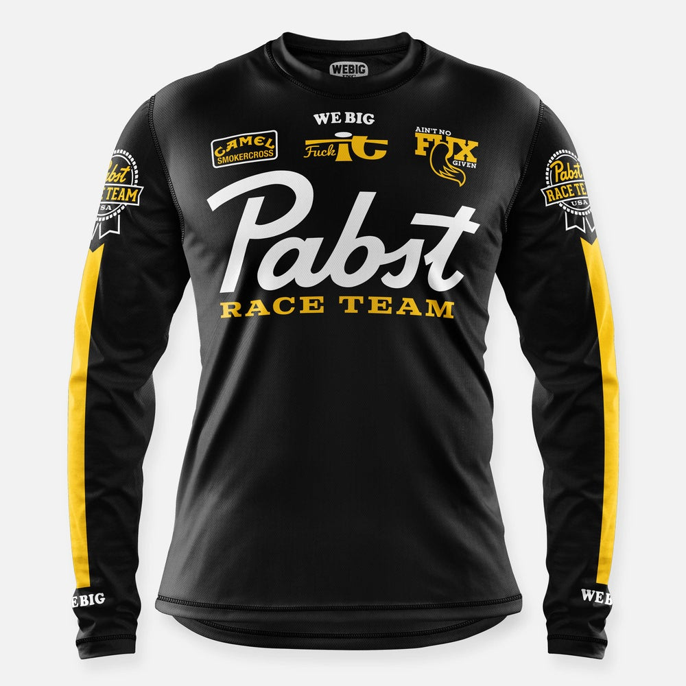 Image of PABST RACE TEAM JERSEY BLACK