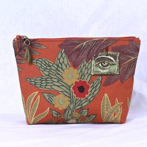 Image of Capsule Purse - Frida Eye Paprika